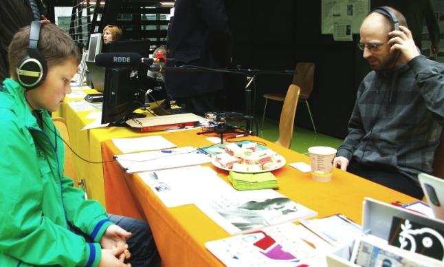 Zeitzeugen Stadtgeschichten Geschichtsmarkt Pietrusky und Gast 23.03.14